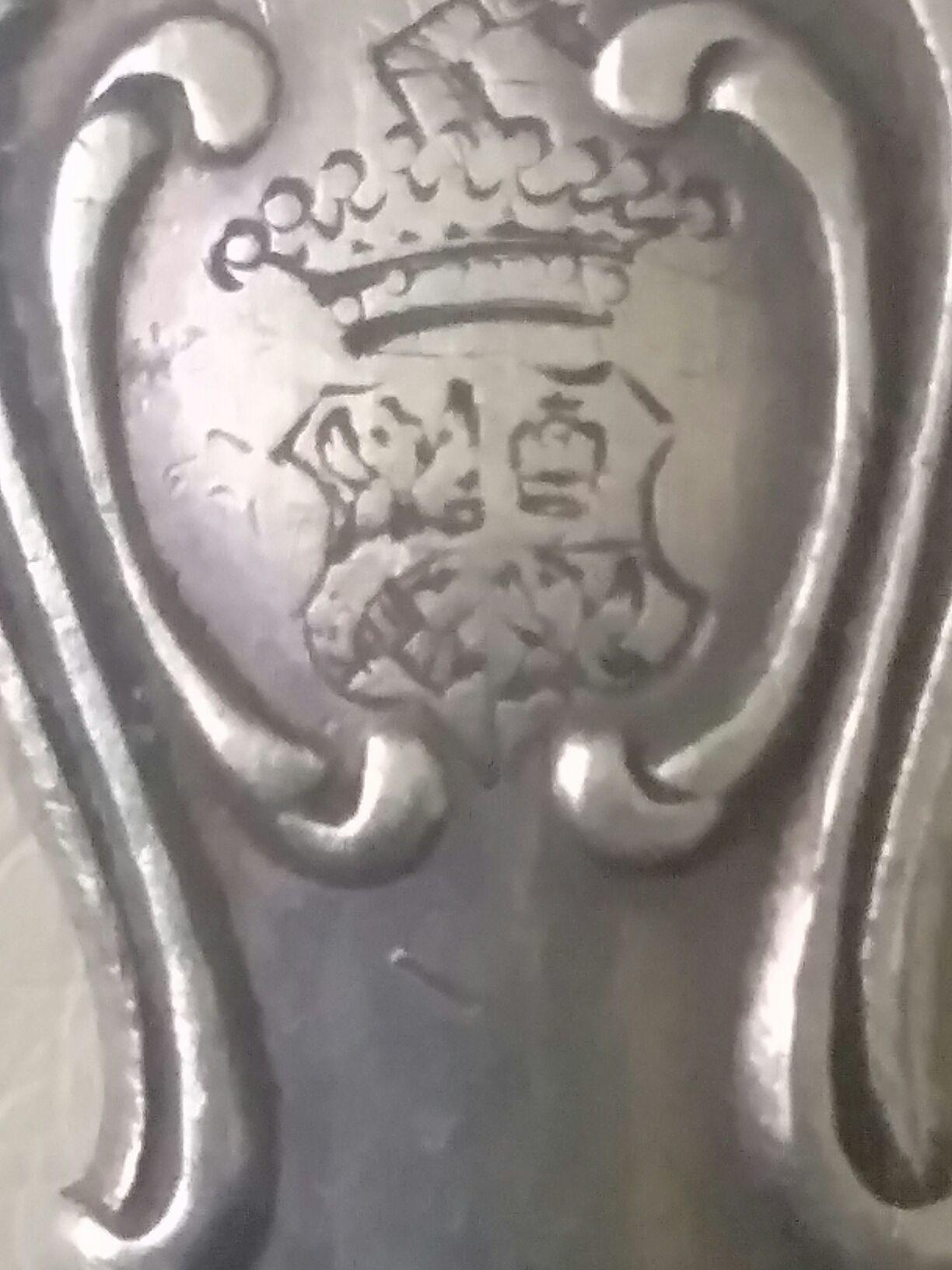Герб на хвостовике ложки